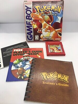 Pokemon Red Nintendo Game Boy CIB Complete