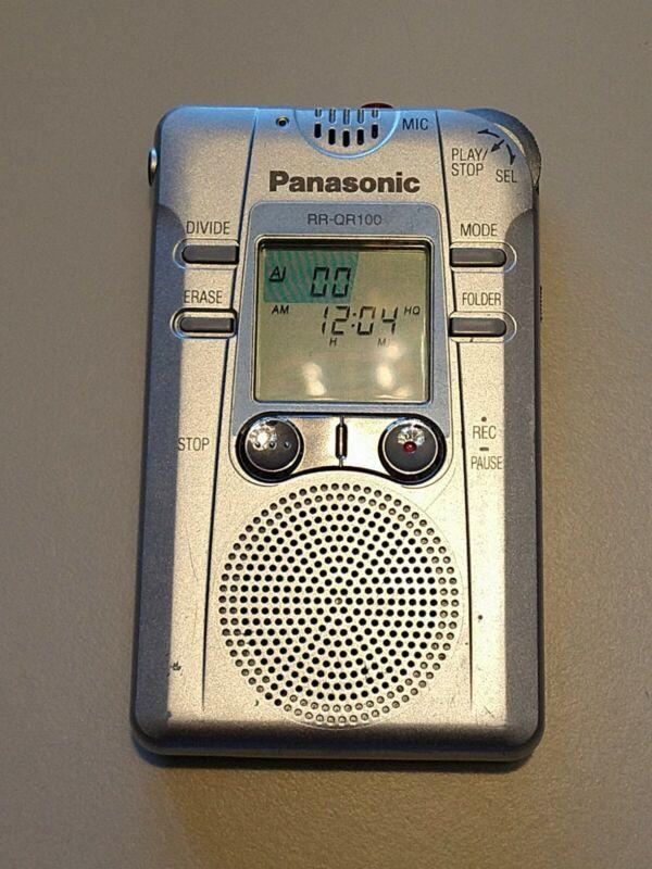 Panasonic RR-QR100 Voice Recorder EVP ghost recorder - rare item