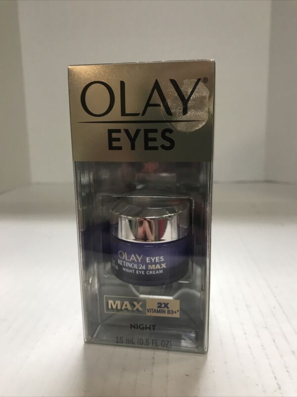 Olay Eyes Max Concentration 2X Vitamin B3+ Night Cream 15mL