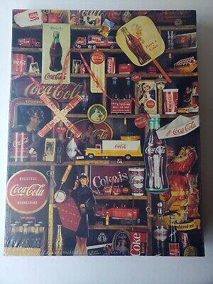 "1986 Coca Cola 500 Piece Puzzle ""Coke Is It!"" Vintage Jigsaw Puzzle NEW SEALED"