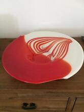 Glass Art Deco bowl Kingsley Joondalup Area Preview