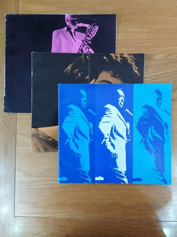 Duke Ellington, Gerry Mulligan & Ella Fitzgerald Souvenir Programmes x 3