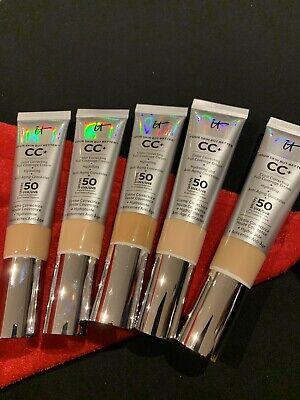 IT COSMETICS CC+ COLOR CORRECTING FULL COVERAGE CREAM TAN