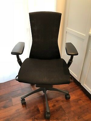 Herman Miller Embody Chair - Graphite Frameblack Balance Textile - Great Deal