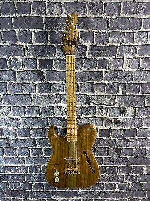"Eichel Custom Electric Guitar Left Handed Florentine Tele ""Florentel"" Thinline!"