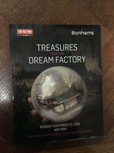 Bonhams TCM Turner Movie Classics Treasures from Dream Factory Auction Catalog