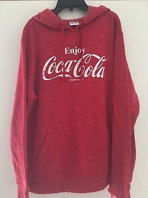Coca Cola Hoodie Size Large NWOT