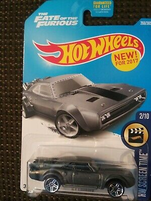 Hot Wheels HW Screen Time the Fate of the Furious ICE CHARGER 2015 Mattel - New