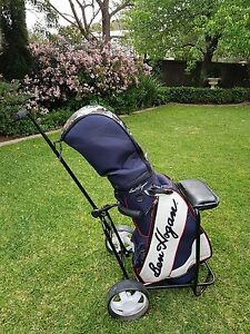 Golf Clubs and Driving Net. As new, used 3 times Unley Unley Area Preview