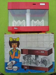 lave vaisselle piko avec sa boite jouet ancien poup e doll toy vintage ebay. Black Bedroom Furniture Sets. Home Design Ideas