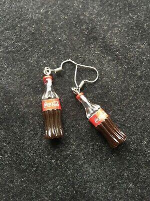 Coke Coca Cola Soda Bottle EARRINGS