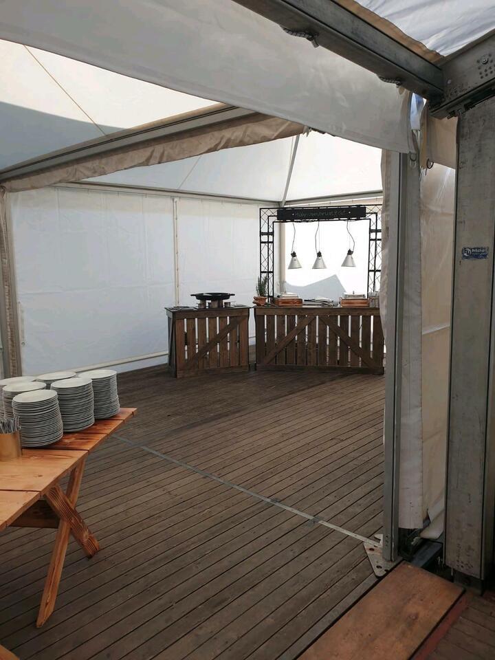 Pagodenzelt 5x5 Meter mieten Partyzelt, Spitzdachzelt Pagode in Nordrhein-Westfalen - Herten