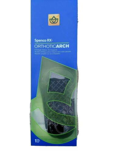 New Spenco Rx Orthotic Arch Full-Length Support Cushion Shoe