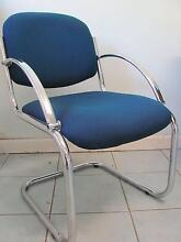 Four blue chairs for free Fitzroy North Yarra Area Preview