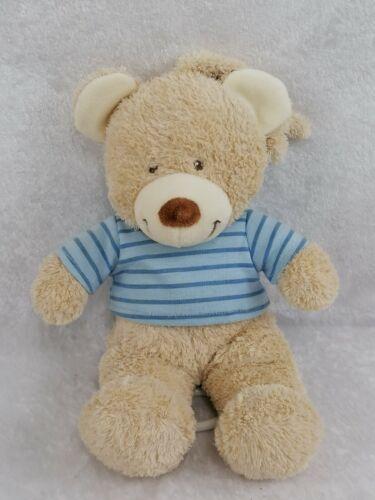 Doudou peluche Tex Baby OURS beige boite à musique Carrefour 28cm B19