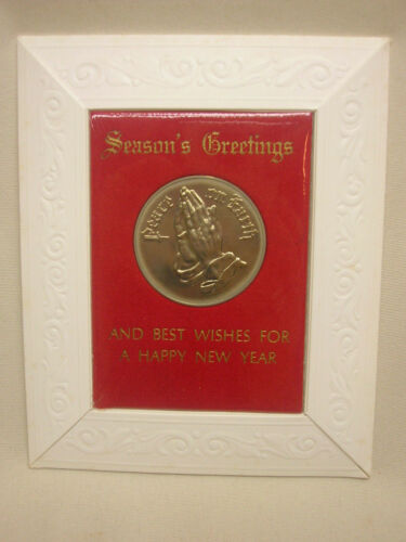7 Vtg 1966 Religious Cards Collectible Coin Season