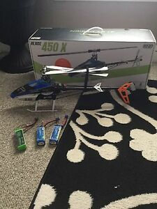 Blade 450x flybarless Helicopter BNF