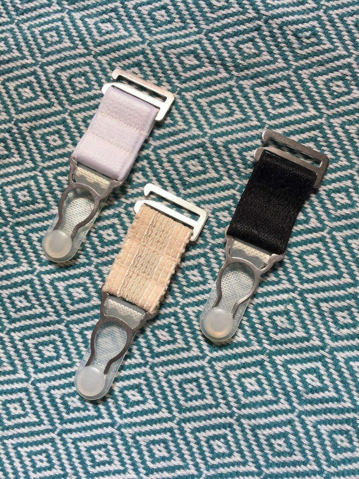 20mm Kurz Ersatz Strumpfhalter Clips Band Strumpfbänder Strümpfe Hüfthalter Wide