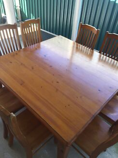 Dining table with 6 chairsDining TablesGumtree Australia