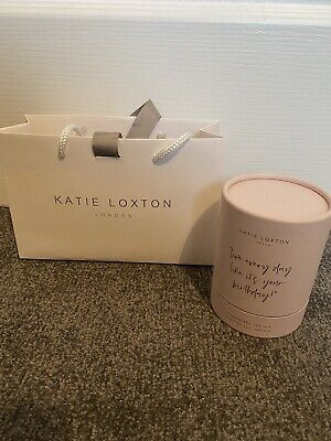 Katie Loxton Strawberry Birthday Candle Brand New In Box & Bag