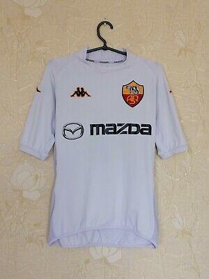 Roma 2002 - 2003 away football shirt jersey camiseta Italy Serie A Kappa size L image