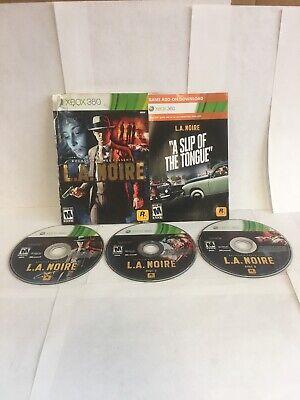 La Noire Complete Edition (Microsoft Xbox 360) Complete L.A No Case. comprar usado  Enviando para Brazil