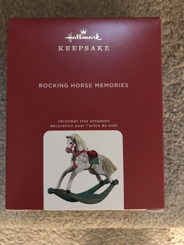 2020 Hallmark Keepsake Ornament Rocking Horse Memories 1st In The Series