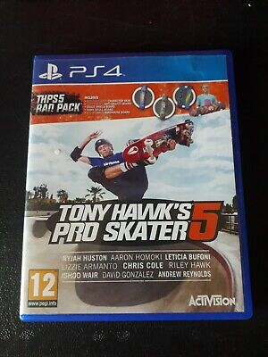 PS4 Game Tony Hawk's Pro Skater 5 - Skateboarding - RARE