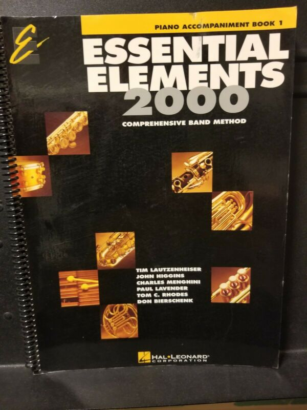 Essential Elements 2000, Piano Accompaniment Book 1, Comprehensive Band Method