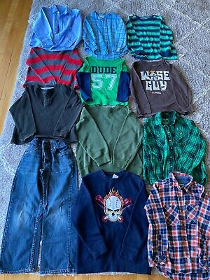 HUGE Boys size 6 7 8 clothing lot with snow pants