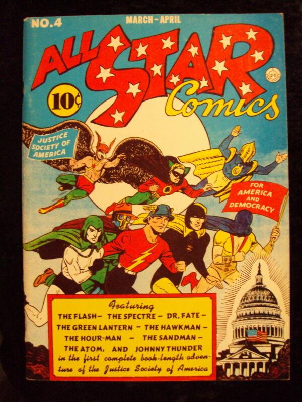 ALL STAR COMICS #4 (FLASHBACK REPRINT)