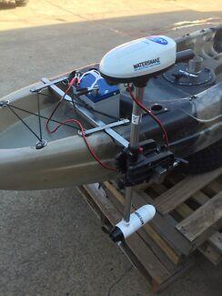 Yaks pro stainless welded kayak motor mount no vibration SALE
