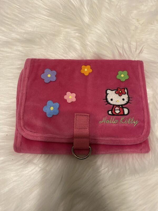 Vtg Hello Kitty Pink Travel Bag Organizer 2000