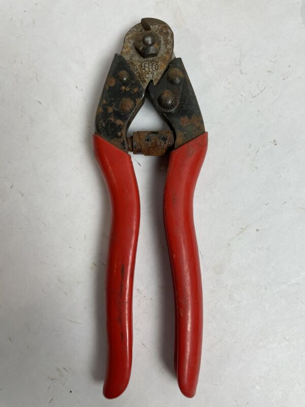 FELCO C7 Industrial Swiss Made Cable Cutter One-Handed Wire Rope Cutters