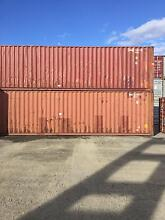 40FT High Cube Shipping Containers Toowoomba Toowoomba City Preview