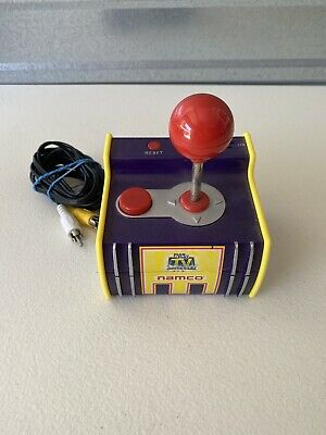 Jakks Namco Arcade Classics Plug and Play TV Games 5-in-1 PAC MAN Tested Works
