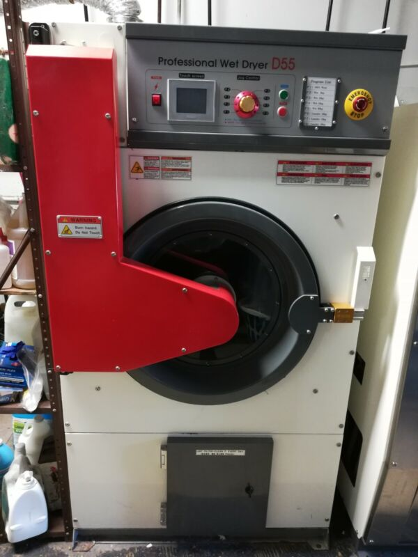 Wet clean and laundry dryer
