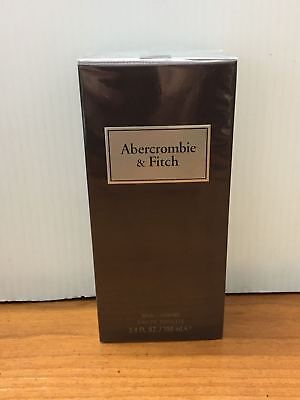 First Instinct  by Abercrombie & Fitch 3.4 oz EDT Spray for man SEALED BOX
