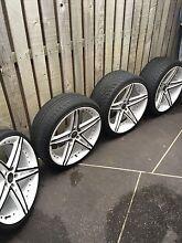 20' Lesanti rims and tyres 5 stud Stretton Brisbane South West Preview