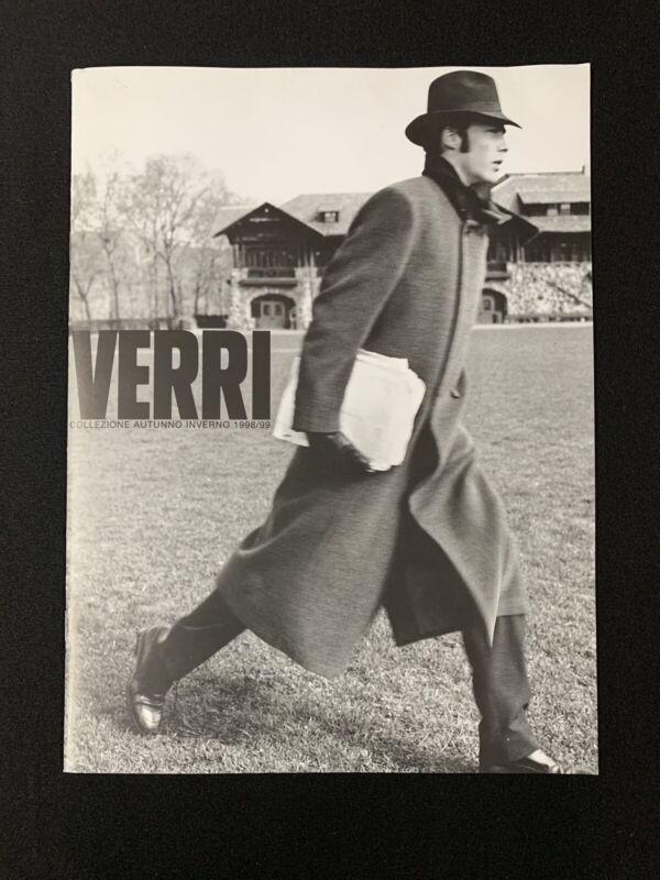 Verri Uomo Inverno 1998/99 Catalog Book - Vintage Designer Fashion