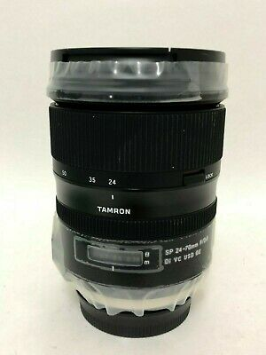 Tamron SP 24-70mm f2.8 DI VC USD G2 for Canon - Used - Excellent Condition