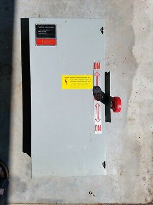 Cutler Hammer Dt222ugk 60 Amp 250 Vac Double Throw Safety Switch New