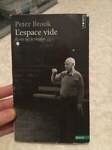L'espace vide de Peter Brook