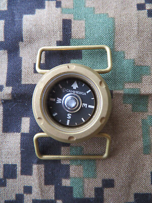 Cammenga Brass Watch Compass   Model Wc10   100M   Made In Usa   October 2017