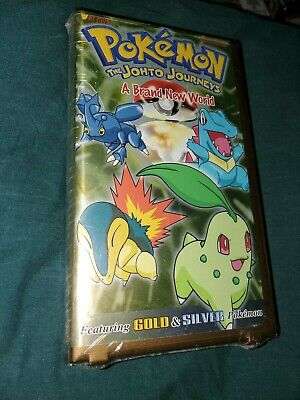 Pokemon Vol. 39: The Johto Journeys - A Brand New World (VHS) New and Sealed