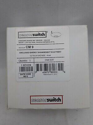 Sensor Switch Cm 9 Contractor Select Standard Range Passive Infrared