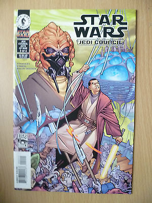 DARK HORSE COMIC STAR WARS- JEDI COUNCIL , No. 2, July 2000