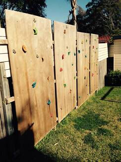 Backyard Climing Wall Oyster Bay Sutherland Area Preview