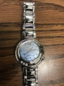 Citizen watch with floating diamonds.