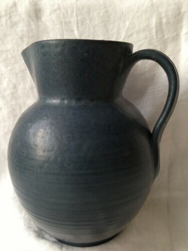 Marblehead pitcher signed AEB, Arthur E Baggs 1933